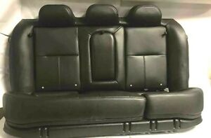 2008 Chevy Impala Ss Rear Black Leather Seat Assembly Trim Code 19i