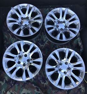 13 Dodge Ram 1500 Set Of 4 Laramie Long Horn Edition 20 Wheels Rims Oem