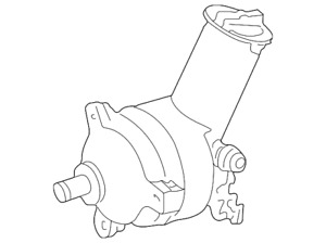 Genuine Ford Power Steering Pump F58z 3a674 Abrm