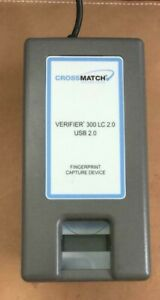 Crossmatch Verifier 300 Lc 2 0 Biometric Fingerprint Reader Usb