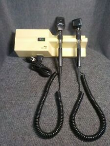 Welch Allyn Wall 767 Transformer With Otoscope And Ophthalmoscope