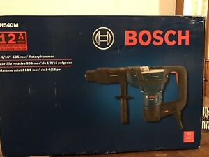Bosch 12a Rh540m 1 9 16 inch Sds max Combination Corded Rotary Hammer New