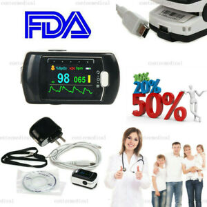 Cms50ea Finger Tip Pulse Oximeter Blood Oxygen Spo2 Monitor rechargeable Battery
