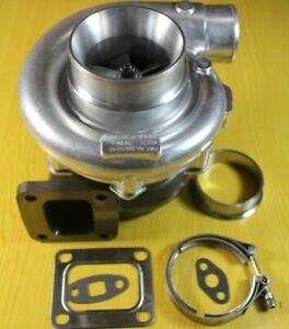 Universal T76 T4 Turbine 96 A R Hot 80 A R Cold 1000 Hp Racing Turbo Charger