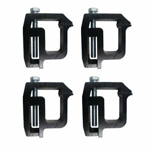 Ifjf Mounting Clamps Truck Caps Camper Shell Powder coated Fit Chevy Silverad