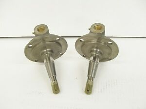 Super Bell 37 41 Ford Style Spindles No Bushings Or Kingpins per Pair Plain