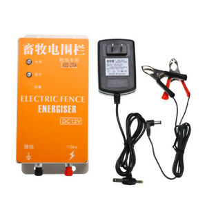 Dc 12v Solar Electric Fence Energizer Charger Xsd 270a High Voltage Pulse Power