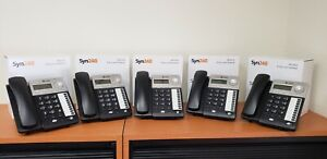 At t Sb35010 Sb35025 Syn248 Voip Business Phone System 1 Gateway 5 Phones