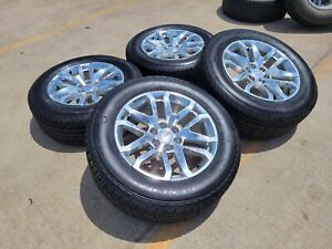 17 Gmc Sierra Chevy Silverado Oem Wheels Rims Tires 5654 2015 2016 2017 2018