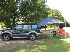 Universal Rear Trunk Tent Awning For Suv Camping Outdoors Overland Waterproof