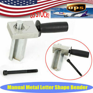 Dual axis Metal Channel Letter Angle Bender Bending Tool Bending Width 100mm New