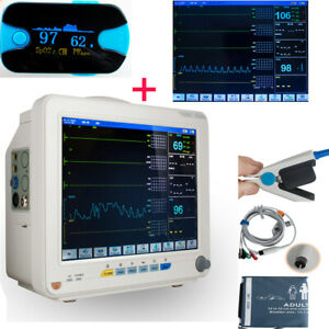 Patient Monitor Vital Sign Heart Cardiac Ecg Nibp oximeter Anesthetist Surgical