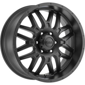 4 New 20x9 Ultra 203sb Hunter Black Wheels Rims 18 5x150