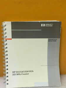 Hp Agilent 53131 90039 Hp 53131a 132a 181a 225 Mhz Counter Assembly Level Svc