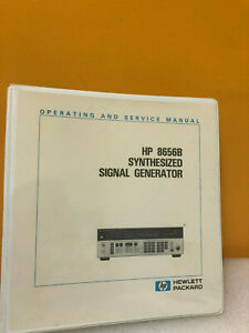 Hp Agilent 08656 90127 Hp 8656b Synthesized Signal Generator Ops svc Manual