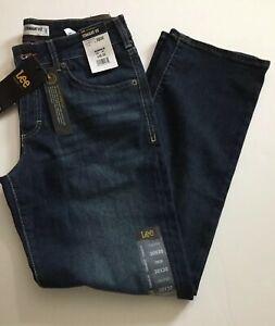 NWT Men Lee 30x30 Active Stretch Straight Fit amp; Leg Whisking Jean $34.99
