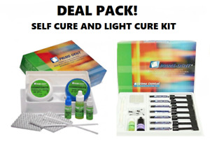 Deal Pack Prime Dent Dental Self Cure Composite Resin Kit And Light Cure Kit