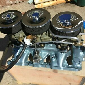 1966 Pontiac Gto Tri Power Set Up Full Size Car