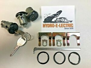 1969 1972 Chevelle Gto Skylark Cutlass Door Trunk Lock Set W Late Gm Keys