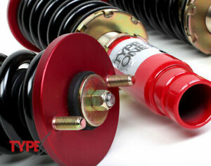Function And Form Type 1 Coilover T1 Suspension System New For 96 00 Civic Ek