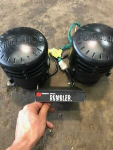 Federal Signal Rumbler Low Frequency Siren Series A