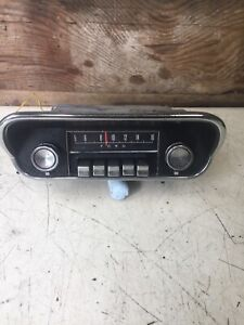1967 1968 Mustang Am Radio By Ford Original