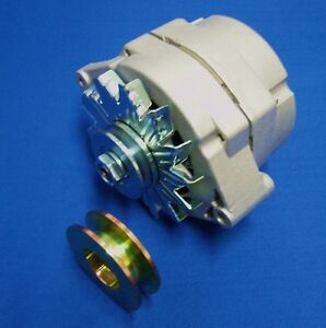 1 Wire Alternator Fits Lincoln Sa 200 250 W 3 8 5 8 Pulleys Redface Shorty