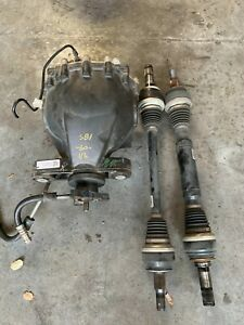 Gm Chevrolet Camaro Zl1 Rear End Differential And Axles 2015