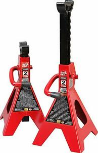 Torin Big Red Steel Jack Stands 2 3 6 Ton Capacity 1 Pair