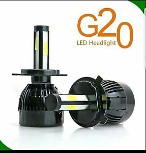 G20 4 Side 9006 Cob Led Headlight Conversion Bulb Light 6000k