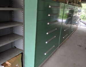 Stanley Vidmar Cabinets 6 Drawers