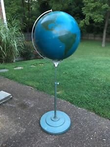 Military Project Globe By A J Nystrom Co