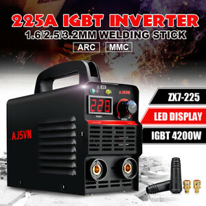 220v Zx7 225 Portable Mma Arc Welder Igbt Welding Machine Soldering Inverter