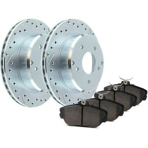 Stoptech 2 Wheel Set Brake Disc And Pad Kits Rear For Honda Odyssey 05 10
