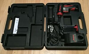 Snap on Tools 1 4 7 2v Nicd Screwdriver With Battery Charger And Case Cts561cl
