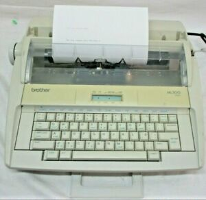 Brother Ml300 Electronic Display Daisy Wheel Dictionary Typewriter