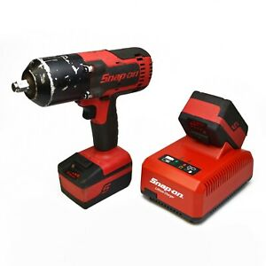 Snap On Ct8850 1 2 Cordless Impact W 2x Ctb8185 Batteries Ctc720 Charger