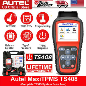 Autel Ts401 Diagnostic Tool Tpms Reset Tire Pressure Sensor Fob For Gm Toyota Vw