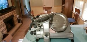 Shiny Hobart 2612 Meat Cheese Slicer Heavy Duty Commercial