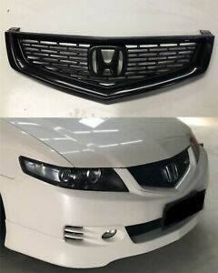 Front Type S Euro R Grille For Honda Accord Euro Acura 06 08 Tsx Cl Mugen
