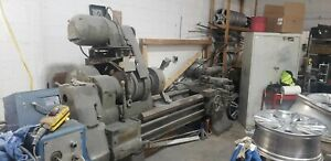 used Lathe Machine Metal 12ft Weighs 3 Tons Buyer Pays For Shipment
