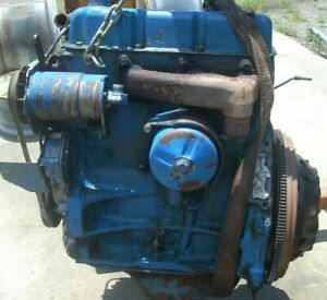 Ford 2000 Tractor 3 Cylinder Gasoline Engine Head Casting No C5ne 6090f