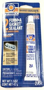 2 Form A Gasket Sealant Pliable Maker Instant Non Hardening Flanges Surface 2a