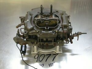 Carter Thermoquad Foor Barrels Carburetor 9077 Carb