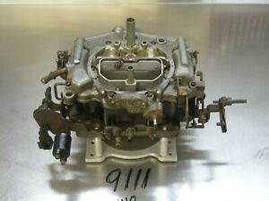 Carter Thermoquad Foor Barrels Carburetor 9111 Carb