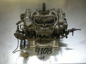 Carter Thermoquad Foor Barrels Carburetor 9108 Carb