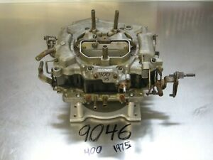 Carter Thermoquad Foor Barrels Carburetor 9046 Carb