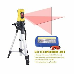 Line Laser Level With Tripod Auto Leveling Kit Combo With Horizontal vertica