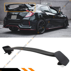 For 2016 2019 Honda Civic Lx Ex Sport Hatchback Type R Style Trunk Spoiler Wing