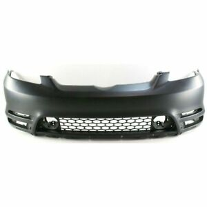 Front Primed Bumper Cover Fits 2003 2004 Toyota Matrix 5211902918 To1000237